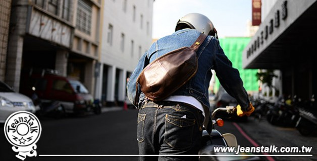 【金斯透客玩物誌】JEANSDA 獵戶座馬皮腰包 Orion Horsehide Waistbag