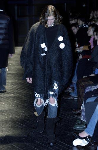 Menswear Fall winter 2004/05Number NineParis Friday  January 23rd