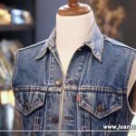 【金斯透客玩物誌】Fashion comes and goes,but denim is forever—美製Levi's 單寧背心